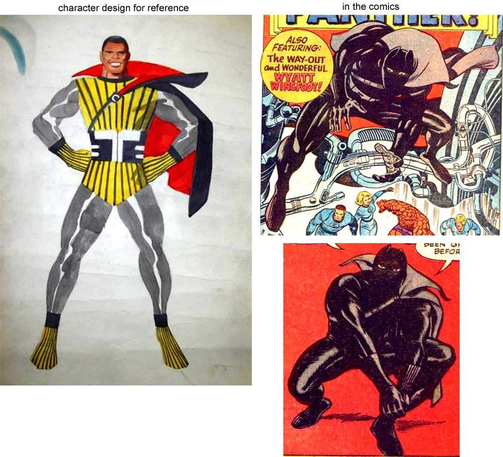 But look closer itu0027s the exact same costume complete with side cape strap stripes on the gloves and boots and so on. The only difference is the absence ...  sc 1 th 214 & Stan Lee and Jack Kirby who did what