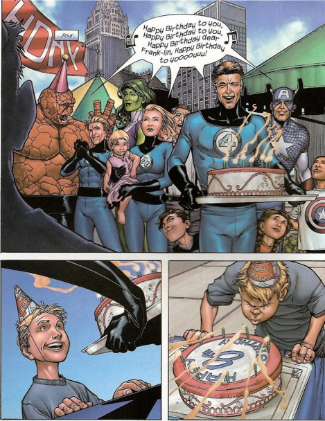 franklin richards controls the marvel universe