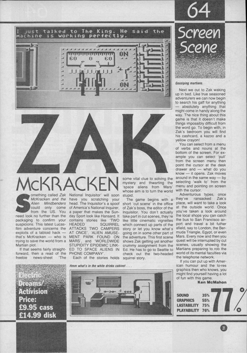 Zak review